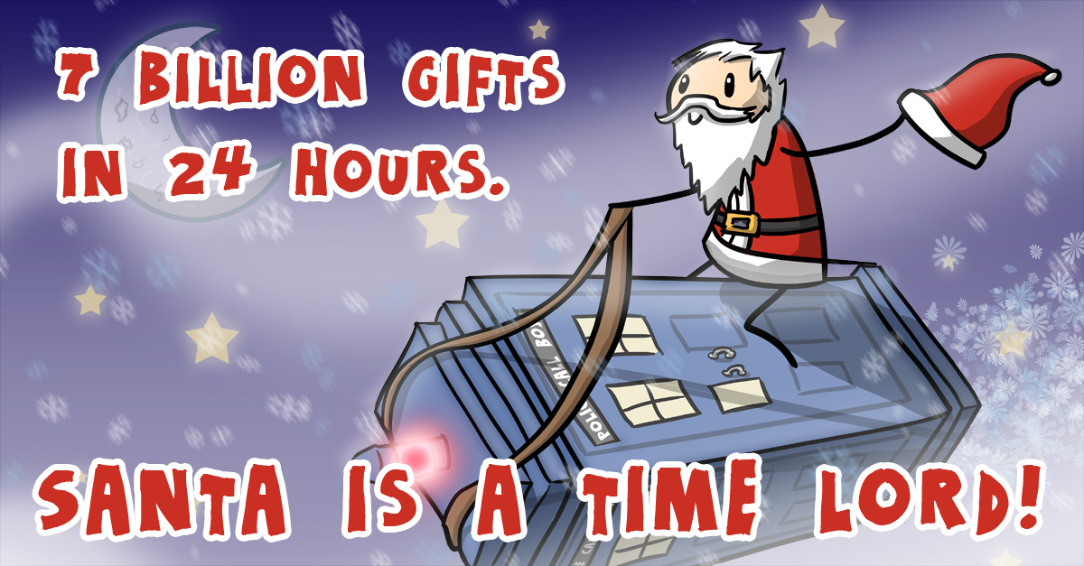 Santa Is A Time Lord