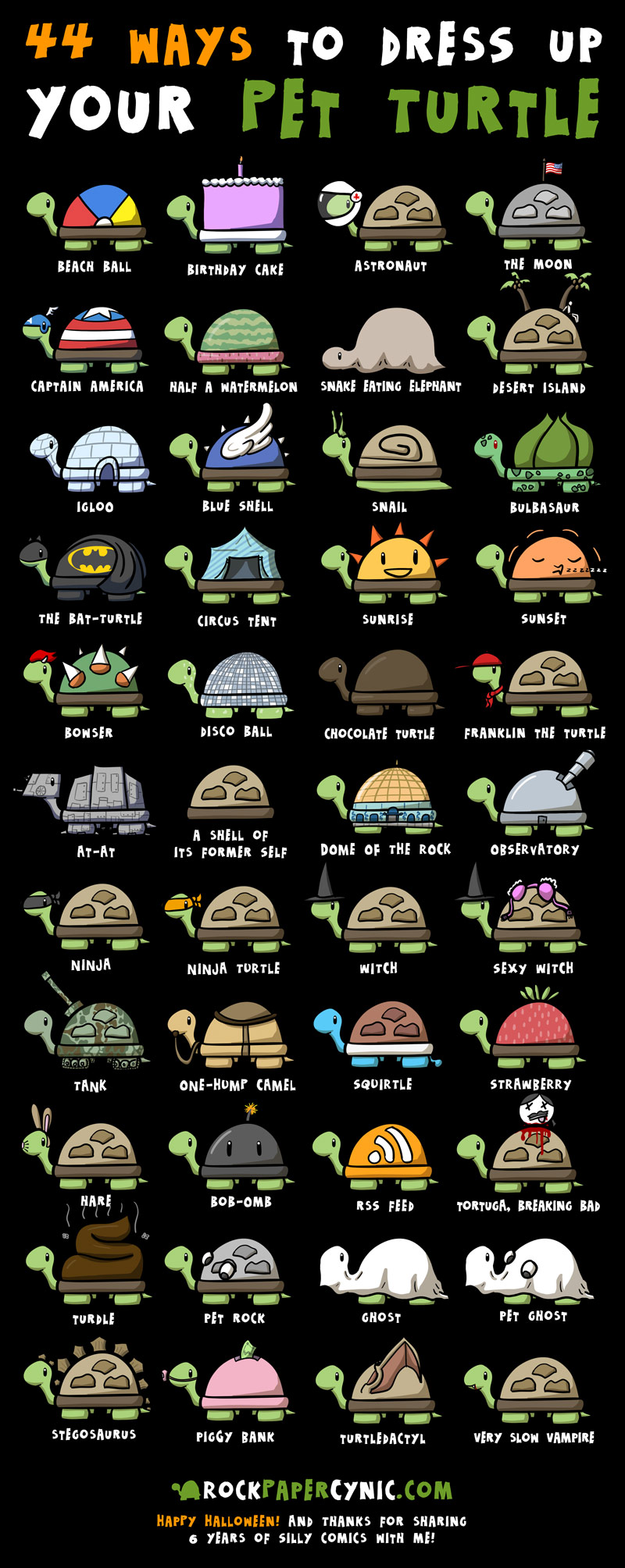 44 costume ideas for your pet turtle